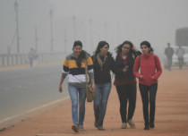 Cold wave in northwest, east and central India