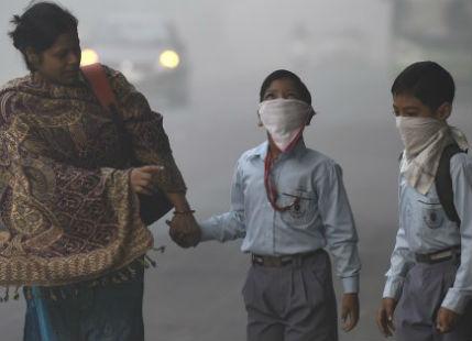 Delhi pollution 2017