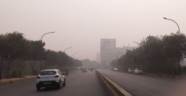 Delhi pollution Smog in Delhi