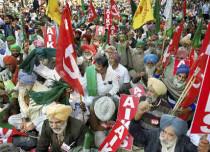 Farmers rally in Delhi