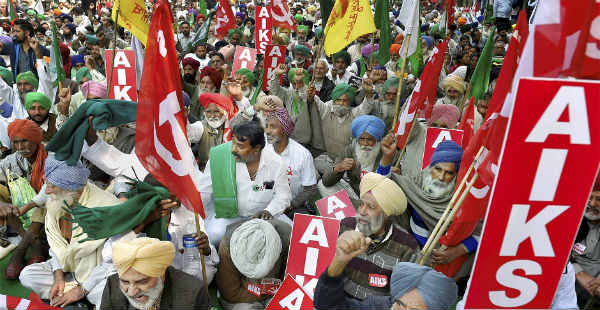 Farmers rally in Delhi