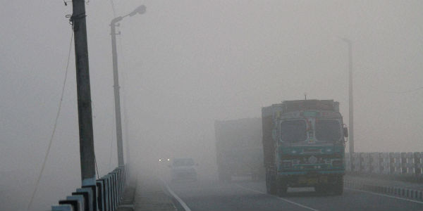 Fog in India post