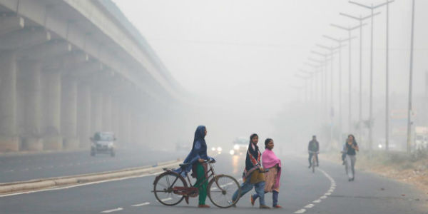 Fog in North India post