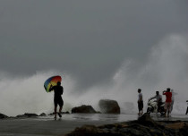 Low pressure area in Bay of Bengal
