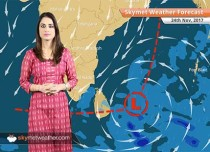 Weather Forecast for Nov 24: Cold wave in Punjab, Haryana, Rajasthan, UP, low pressure in Bay