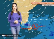 Weather Forecast for Nov 25: Low pressure in Bay to give rain in Chennai, TN, Kerala, Cold wave in Haryana, Rajasthan