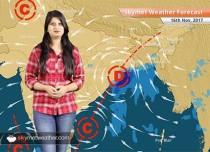 Weather Forecast for Nov 16: Rain in Kolkata, West Bengal, Odisha; Delhi Pollution to improve