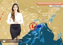 Weather Forecast for Nov 17: Rain in Kolkata, Bhubaneswar; Delhi pollution to remain on lower side