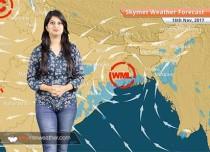 Weather Forecast for Nov 18: Rain in Kolkata, Bengaluru, Hyderabad; Delhi Pollution to improve
