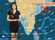 Weather Forecast for Nov 19: Snow in Kashmir, Himachal; Break from Delhi Pollution to continue