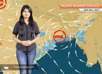 Weather Forecast for Nov 18: Rain in Jammu and Kashmir, Himachal, Rajasthan, Chhattisgarh