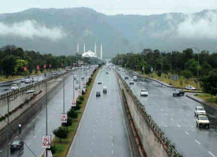 Pakistan Rain feature