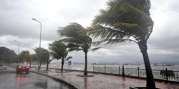 Typhoon in Vietnam post