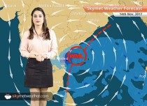 Weather Forecast for Nov 14: Heavy rain in Chennai, TN, Andhra; Delhi Pollution to continue
