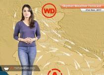 Weather Forecast for Nov 21: Relief from Delhi Pollution continues, Rain in Chennai, TN, Kerala