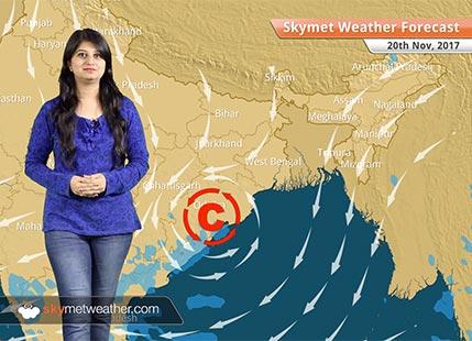 20 नवंबर के लिए मौसम पूर्वानुमान: कश्मीर, हिमाचल में बर्फबारी; दिल्ली, उत्तर पश्चिम भारत के तापमान में गिरावट..