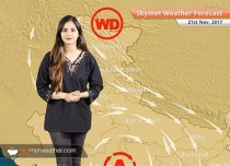 Weather Forecast for Nov 21: Snow in Kashmir, Himachal; Minimums to drop further in Delhi