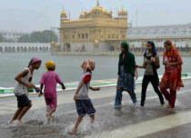 amritsar rains f
