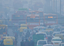 pollution f