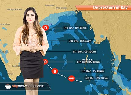 Depression in Bay to intensify further