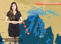 Deep depression in Bay to give rains in Kolkata, Andhra Pradesh, Odisha