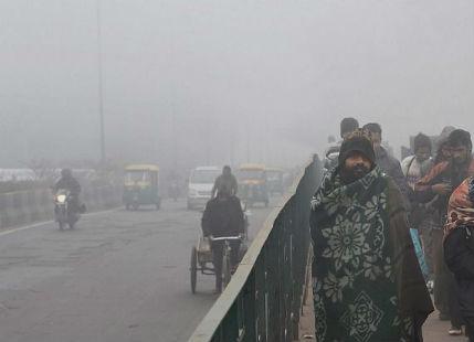 Cold wave in Delhi