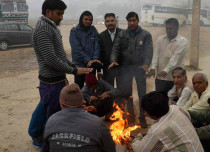 Cold wave in east and Central India