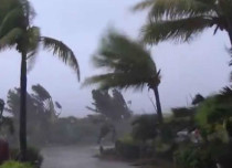 Cyclone  in Philippines