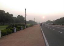 Delhi pleasant morning