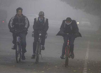 Fog in Uttar Pradesh and Bihar