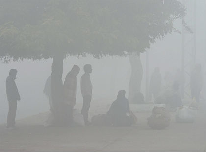 Fog in Uttar Pradesh and Bihar