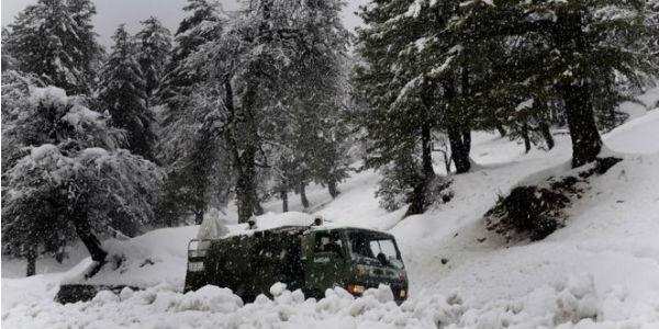 Kahsmir avalanche