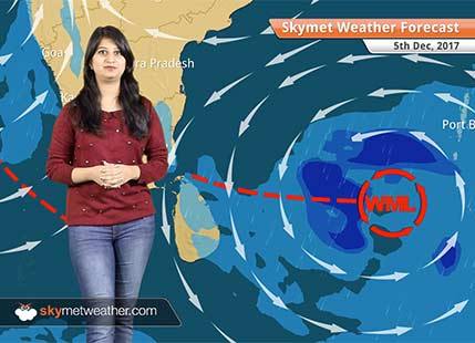 Weather Forecast for Dec 5: Cyclone Ockhi to weaken; Rain in Mumbai, Maharashtra, Gujarat