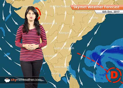 Weather Forecast for Dec 6: Ockhi to weaken further, head to Gujarat; light rain in Mumbai to continue