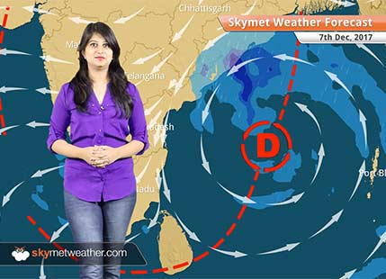 Weather Forecast for Dec 7: Cyclone Ockhi fizzles out, Depression forms in Bay