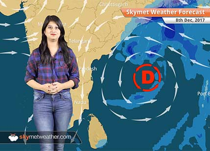 Weather Forecast for Dec 8: Deep depression likely in Bay, rain in Kolkata, Andhra Pradesh, Odisha