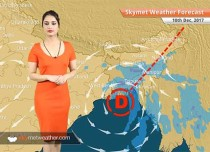 Weather Forecast for Dec 10: System in Bay weakens into depression, rain in WB, Northeast