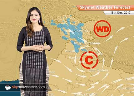 Weather Forecast for Dec 13: Rain, Snow in Kashmir, Himachal, winters to intensify in Delhi, Punjab, Haryana
