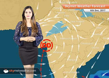 Weather Forecast for Dec 6: Cyclone Ockhi to give rains over West Madhya Pradesh, East Rajasthan