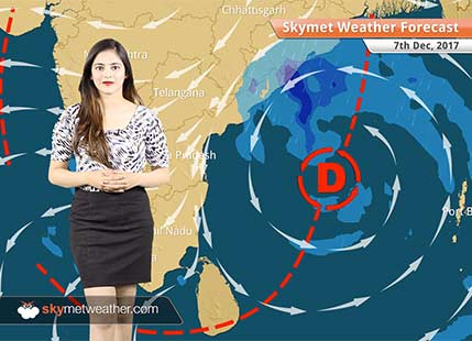 Weather Forecast for Dec 7: Depression forms in Bay, Delhi pollution to reduce