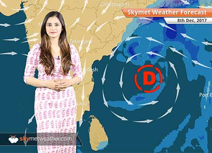 Weather Forecast for Dec 8: Delhi Pollution to improve further, deep depression to give rain over East Coast