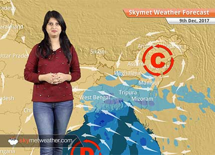 Weather Forecast for Dec 9: Delhi Pollution to improve, Deep depression in Bay to give rain in West Bengal, Odisha