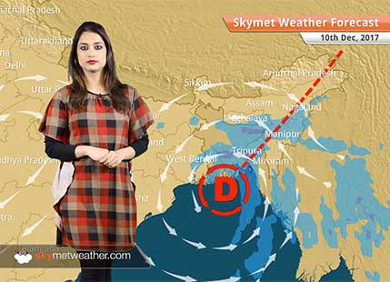 Weather Forecast for Dec 10: Delhi Pollution to remain on lower side, Rain in Jaipur, Rajasthan