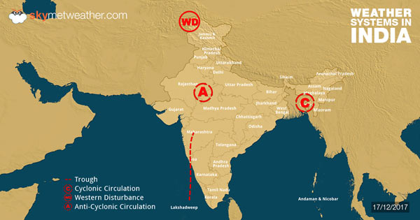 Weather Forecast for December 18 Across India