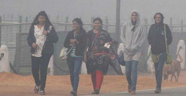 Winters in north India