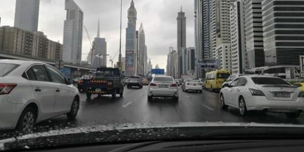 Rain in Dubai and Abu Dhabi drop temperatures by six degrees