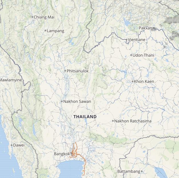 thailand lightning