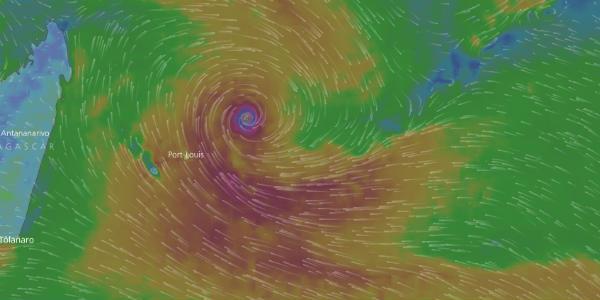 Cyclone Berguitta: Heavy rains, damaging winds likely over La Reunion, Mauritius