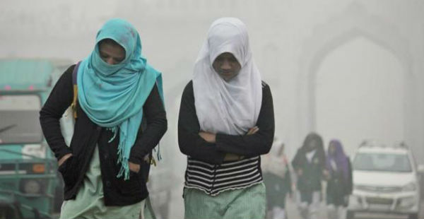 Cold wave in Lucknow