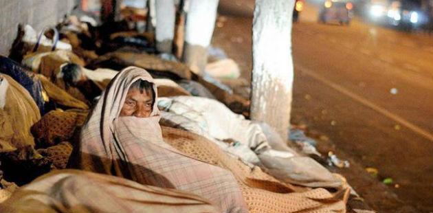 Cold-wave in Uttar Pradesh